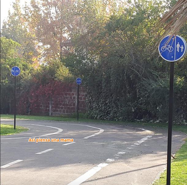 tarde en el parque con bicis
