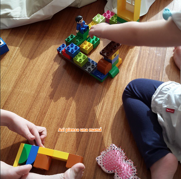 contruyendo con lego
