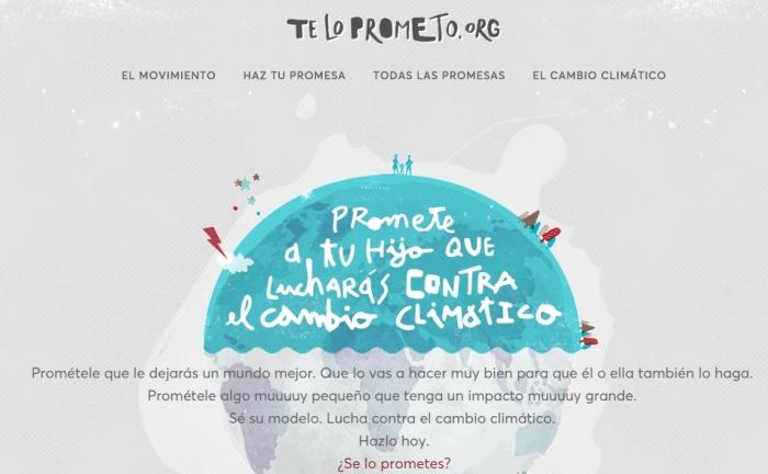 Promete a tu hijo que lucharás contra el cambio climático - Te lo prometo - Google Chrome 2015-10-30 10.59.12