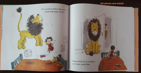 libro esconder león