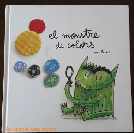 libro monstre colors
