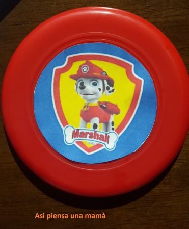 paw frisbee