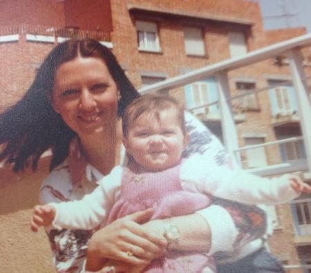 madre en los 80 Sil