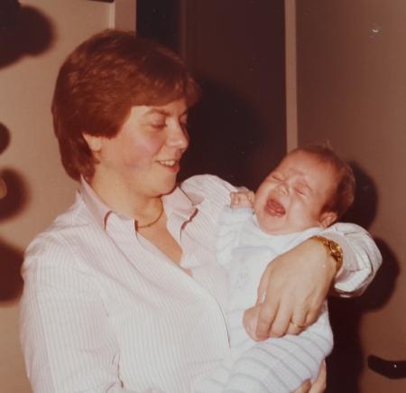 madre en los 80