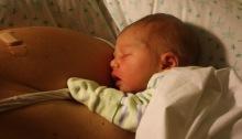 recien nacido vinculo lactancia