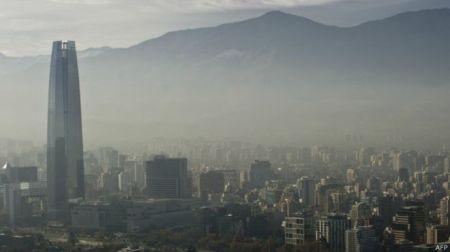 santiago-smog-contaminación