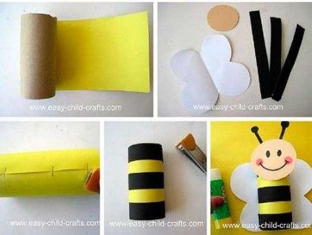 paso-a-paso-abeja-cartulina