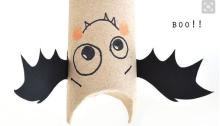 murciélago-papel