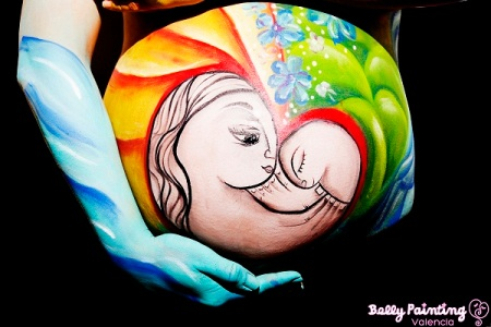 Belly Painting Valencia