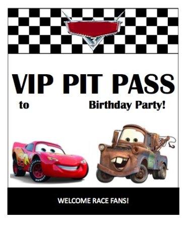Cartel-entrada-cars-cumpleaños