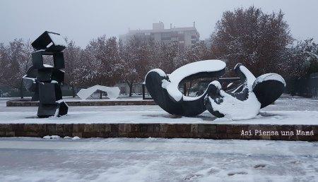 Esculturas-nevadas