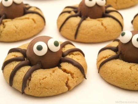 arañas-galletas-recetas-halloween