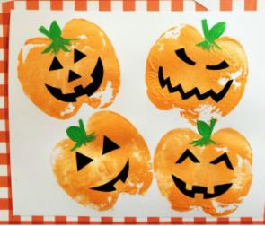 pumpkin-stamps-sellos-calabaza