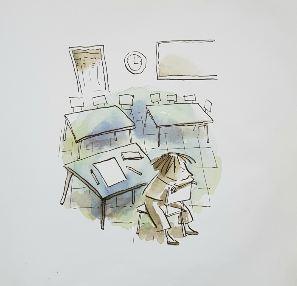 Zoe-frustrada-el-punto