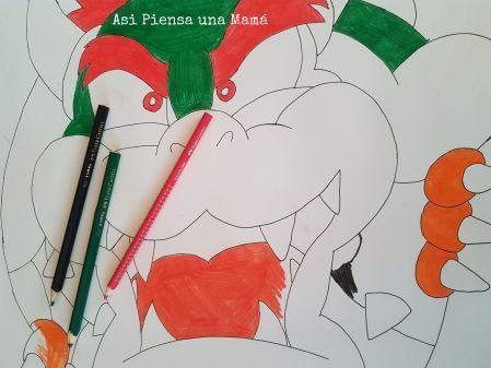 bowser-pintando